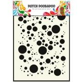 Dutch Doobadoo Dutch Mask Art stencil Bubbles A5  (470.715.017)*