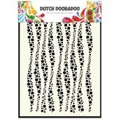 Dutch Doobadoo Dutch Mask Art stencil golven A5 (470.715.037)*