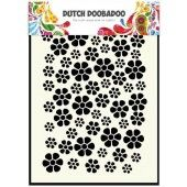 Dutch Doobadoo Dutch Mask Art stencil bloemen A5 (470.715.040)