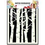 Dutch Doobadoo Dutch Mask Art stencil Berkenbomen A5 (470.715.045)