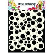 Dutch Doobadoo Dutch Mask Art stencil bubbles 2 A5 (470.715.100)