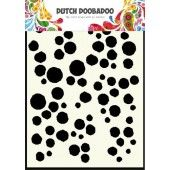Dutch Doobadoo Dutch Mask Art stencil Grunge dots A5  (470.715.101)
