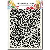 Dutch Doobadoo Dutch Mask Art stencil Floral Waves A5 (470.715.116)