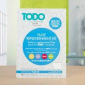 TODO Multi-Functional Crafting Machine Plate Replenishment Kit (21002)