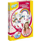 Totum kinder hobbyset Unicorn 3D Ironing Beads 021143 A4 (04-20)