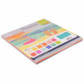 Florence • Cardstock smooth 30,5x30,5cm Summer 12x5 Basic (2926-302)