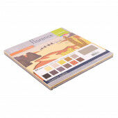 Florence • Cardstock smooth 30,5x30,5cm Earth tones 12x5 Basic (2926-306)