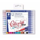 Calligraphy duo kalligrafie pen - set 12 st (3005 TB12)