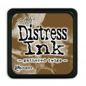 Ranger Distress - Mini Ink pad - gathered twigs - Tim Holtz (TDP40002)