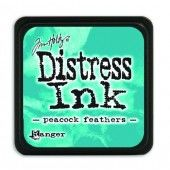 Ranger Distress - Mini Ink pad - peacock feathers - Tim Holtz (TDP40064)