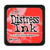 Ranger Distress - Mini Ink pad - ripe persimmon - Tim Holtz (TDP40118)