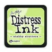 Ranger Distress - Mini Ink pad - shabby shutters - Tim Holtz (TDP40163)