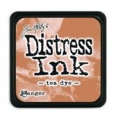 Ranger Distress - Mini Ink pad - tea dye - Tim Holtz (TDP40231)