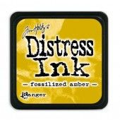 Ranger Distress - Mini Ink pad - fossilized amber - Tim Holtz (TDP46783)