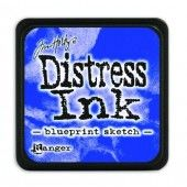 Ranger Distress - Mini Ink pad - blueprint sketch - Tim Holtz (TDP47346)