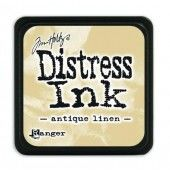 Ranger Distress - Mini Ink pad - antique linen - Tim Holtz (TDP39846)