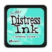 Ranger Distress - Mini Ink pad - broken china - Tim Holtz (TDP39877)