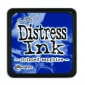 Ranger Distress - Mini Ink pad - chipped sapphire - Tim Holtz (TDP39907)
