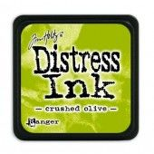 Ranger Distress - Mini Ink pad - crushed olive - Tim Holtz (TDP39914)