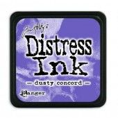 Ranger Distress - Mini Ink pad - dusty concord - Tim Holtz (TDP39938)