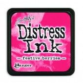 Ranger Distress - Mini Ink pad - festive berries - Tim Holtz (TDP39969)