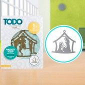 TODO Die Template Nativity Scene (370382)