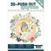 3D Pushout Book 14 - Spring Flowers
