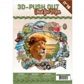 3D Pushout Book  - 16 Just for men