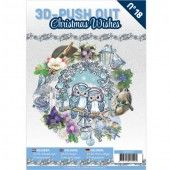 3D Pushout Book - 18 Christmas Wishes