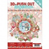 3D Pushout Book - 19 Lovely Christmas