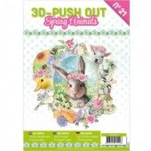 3D Pushout Book - 21 - Spring Animals