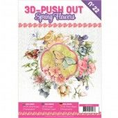 3D Pushout Book - 22 - Spring Flowers
