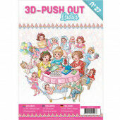 3D Push Out book 27 - Ladies