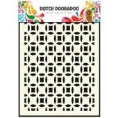 Dutch Doobadoo Dutch Mask Art stencil Small cricles - A5  (470.715.019)