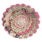 Sizzix Bigz Die - Flower, 3-D Wrapped 657116 Eileen Hull