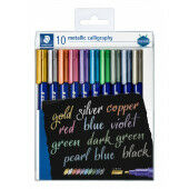 metallic calligraphy - set 10 st (8325 TB10)
