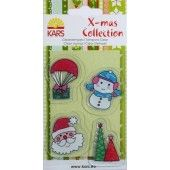 Clearstamp - Santa Snowman - 980003/0079