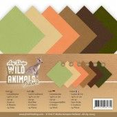 Linen Cardstock Pack - A5 - Amy Design - Wild Animals Outback