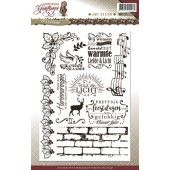 Clearstamp - Amy Design - Christmas Greetings  - Tekst