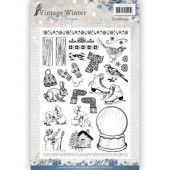 Clearstamp - Amy Design -  Vintage Winter