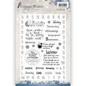 Clearstamp - Amy Design -  Vintage Winter NL