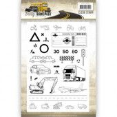Clearstamp - Amy Design - Daily Transport