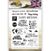 Clearstamp - Amy Design - Daily Transport English
