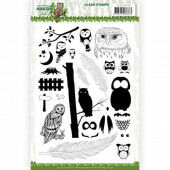 Clear Stamps - Amy Design - Amazing Owls (ADCS10070)
