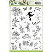 Clear Stamps - Amy Design - Friendly Frogs (ADCS10072)