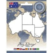 Die - Amy Design - Maps - Australia