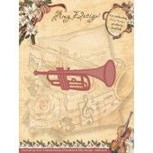 Die - Amy Design - Vintage Christmas Collection Die - Trumpet