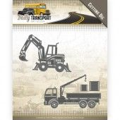 Die - Amy Design - Daily Transport - Construction Vehicles