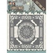 Die - Amy Design - Christmas Wishes - Twelve O'clock frame