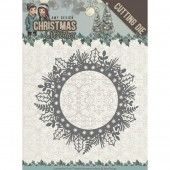 Die - Amy Design - Christmas Wishes - Holly Wreath
